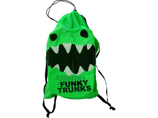Funky Trunks Mesh Gear Bag mad monster